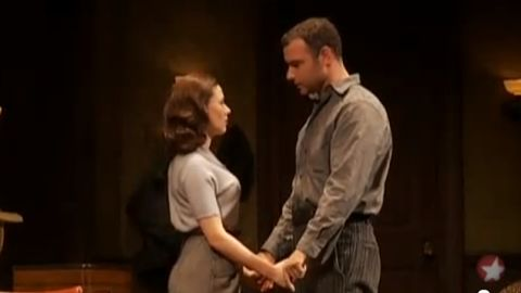"""Scarlett Johansson and Liev Schreiber starred in """"A View from the Bridge"""" on Broadway in 2009. Johansson won a Tony Award for playing Catherine, while Schreiber was nominated for his performance."""
