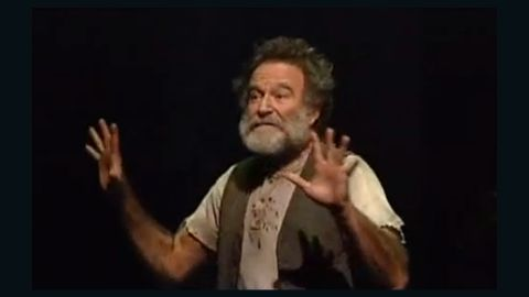 """Robin Williams plays the title role in Rajiv Joseph's """"Bengal Tiger at the Baghdad Zoo."""" The play, which takes place in Baghdad, opened in March 2011."""
