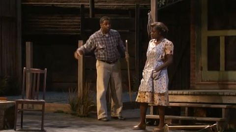 """Denzel Washington and Viola Davis starred in the 2010 Broadway revival of August Wilson's 1983 play, """"Fences."""""""