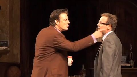 """Chris Noth and Kiefer Sutherland starred in Jason Miller's 1972 play, """"That Championship Season,"""" in 2011."""