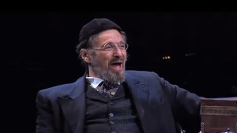 """Al Pacino took the stage in 2010 in """"The Merchant of Venice"""" on Broadway. Pacino first played Shylock in the 2004 film adaptation of Shakespeare's play."""