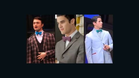 """In February 2011, """"Harry Potter's"""" Daniel Radcliffe took on the role of J. Pierrepont Finch in the Broadway revival of """"How to Succeed in Business Without Really Trying."""" """"Glee's"""" Darren Criss succeeded Radcliffe for a short time in January 2012. Jonas Brothers' Nick Jonas currently plays the part."""