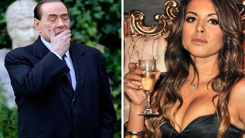 Former Italian Prime Minister Silvio Berlusconi is accused of sleeping with then-underage dancer Karima El Mahroug.
