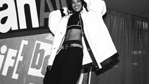 """Shortly after filming her """"Rock the Boat"""" music video in the Bahamas in 2001, 22-year-old Aaliyah died in an airplane crash."""