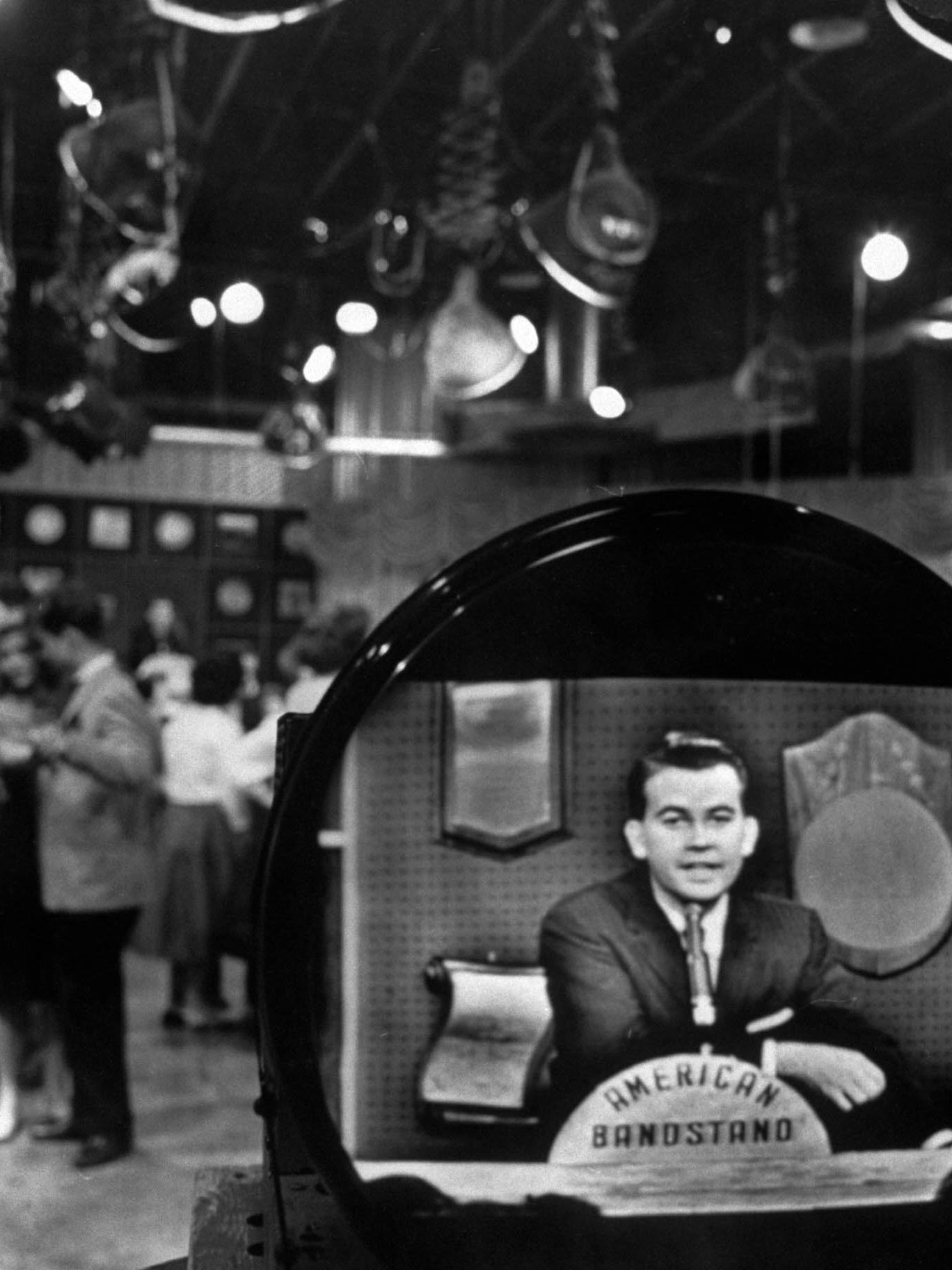 """Clark on  """"American Bandstand."""""""