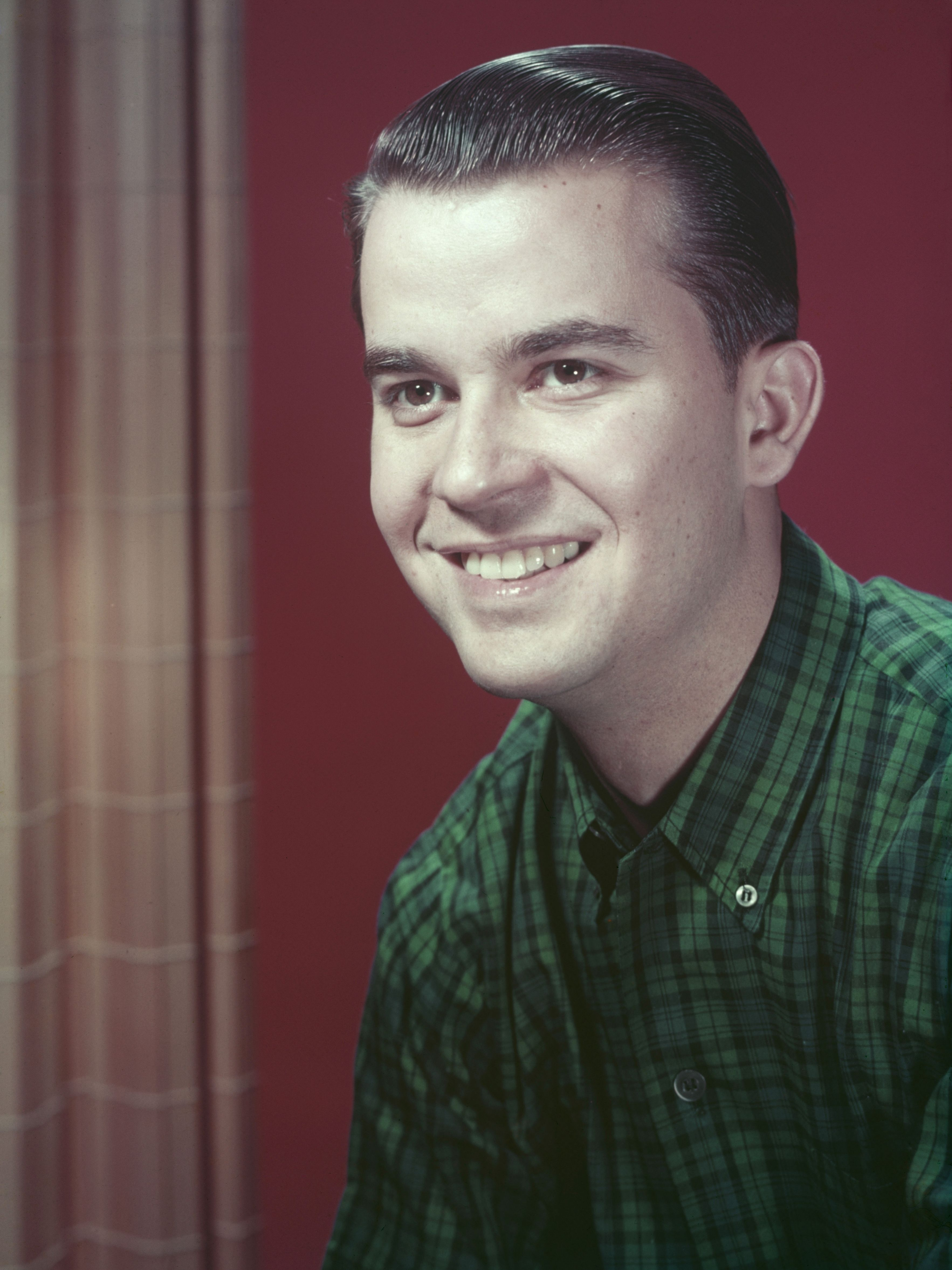 A young Clark poses for a portrait circa 1953.