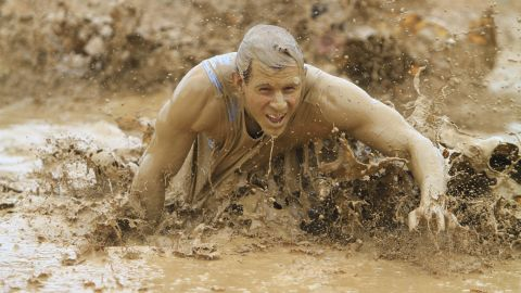 """Who doesn't want to crawl through mud on their way to the finish line? Other obstacles for the Rugged Maniac include a 12-foot-high wall and a 50-foot water slide. At least the slide would be easy. <br /><br />If this looks like fun, you can also check out your local <a href=""""http://www.warriordash.com/"""" target=""""_blank"""" target=""""_blank"""">Warrior Dash</a>, <a href=""""http://toughmudder.com/"""" target=""""_blank"""" target=""""_blank"""">Tough Mudder</a> or <a href=""""http://www.spartanrace.com/"""" target=""""_blank"""" target=""""_blank"""">Spartan Race</a>."""