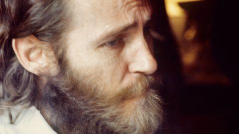 Levon Helm in London in 1971.