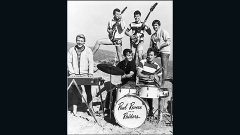 """Paul Revere, of the classic 1960s band Paul Revere and the Raiders, met Clark for the first time during a shooting of the NBC show, """"Where the Action Is."""" """"He was so famous, and when you saw him in person you had this 'oh my god, there he is moment.' But he never acted like a star. He was a good person,"""" Revere said."""