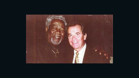 """Friends of Dick Clark, who died Tuesday at age 82, shared photos they took with him over the years. The Drifters were one of the first African-American groups to be featured on Clarks' show """"American Bandstand,"""" in its early days in Philadelphia. Late band member Bill Pinkney posed with Clark in 1997 at the 45th anniversary celebration for the show. As his legal steward Maxine Porter put it, """"He was just pleased to be in attendance as one of the very earliest artists before going national."""""""