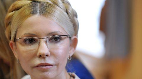 Ukraine's former prime minister Yulia Tymoshenko pictured in 2011.