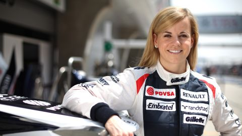But not everyone is a fan -- Williams' test driver Susie Wolff has spoken out against Ecclestone's idea, saying she prefers to test her mettle against men as well as women.