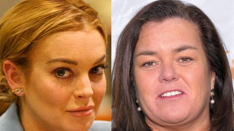 Rosie O'Donnell rips the casting of Lindsay Lohan as Elizabeth Taylor.