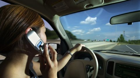 Solo trips without peer pressure or parents are when young drivers are more susceptible to distracted driving, a study shows.