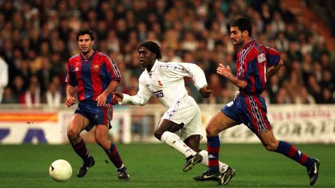He joined Barca's famed La Masia youth academy in 1984, and wore the No. 4 shirt until leaving for Italy in 2001.