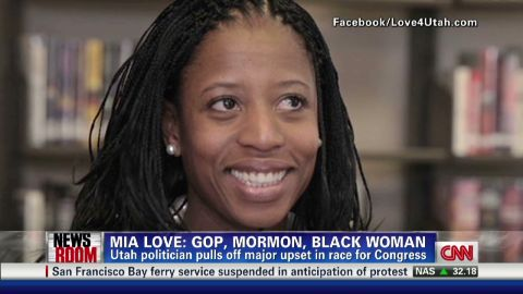 exp Mia Love Poised To Become First Black, GOP Woman In Congress_00002001