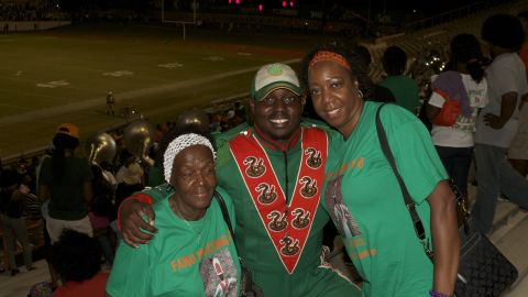 Florida A&M University drum major Robert Champion died in November after a hazing ritual on a band bus.