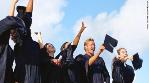 Can it be that earning a college degree is no longer enough to lift one from the daily grind?