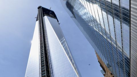 One World Trade center is now the tallest building in New York, and will get taller as construction continues until late next year.