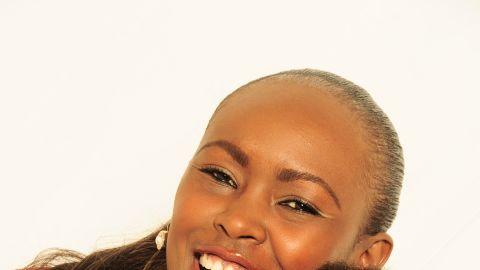 Recently Mutoko adopted 8-month-old girl, Theodora Nduku.
