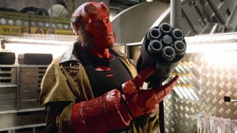 """Ron Perlman went red for Guillermo del Toro's """"Hellboy"""" in 2004 and """"Hellboy II: The Golden Army"""" in 2008."""