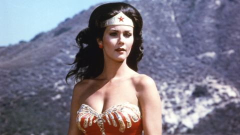 Wonder Woman, as she appeared in the 1970s TV show starring Lynda Carter.