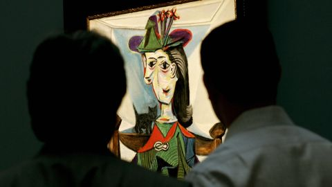 """Sotheby's sold Picasso's """"Dora Maar au chat"""" in 2006 for $95.2 million."""