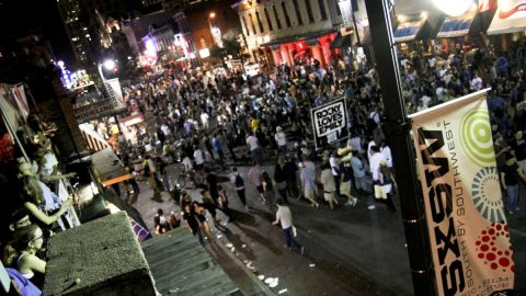 The South by Southwest Interactive festival in Austin, Texas, is a meeting of Web minds, but partying also plays a role.