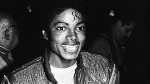 Michael Jackson at the Los Angeles premiere of the musical 'Dreamgirls' in 1983.