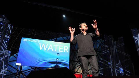 Peter Diamandis speaks at TED2012.