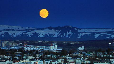 Reykjavik, Iceland, in May 2012.