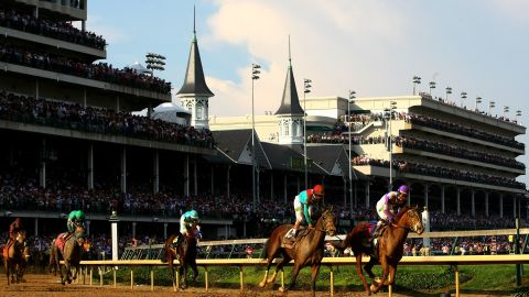 Churchill Downs hosted the 138th running of the Kentucky Derby on Saturday in Louisville, Kentucky.