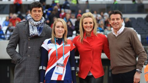 Paralympic gold medalist archer Danielle Brown also took part in the ceremony. The opening weekend included the British Universities and Colleges Sports Outdoor Championships, the first athletics meeting at the 80,000-seater stadium.