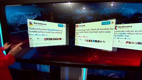 cnni celebrity  tweets obama same sex marriage _00002320
