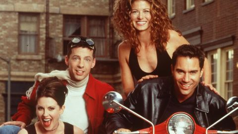 """Debra Messing is currently solving """"The Mysteries of Laura,"""" but maybe she'd be up for reprising her role on """"Will & Grace."""" The comedy -- starring Megan Mullally, Sean Hayes, Messing and Eric McCormack -- ran for eight seasons on NBC."""