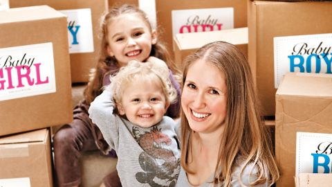 Amy Dunnigan has tirelessly collected baby clothes for new-borns in need since 2006.