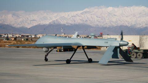 U.S. drone strikes killed seven al Qaeda militants and eight civilians in southern Yemen on Tuesday, Yemeni officials said.