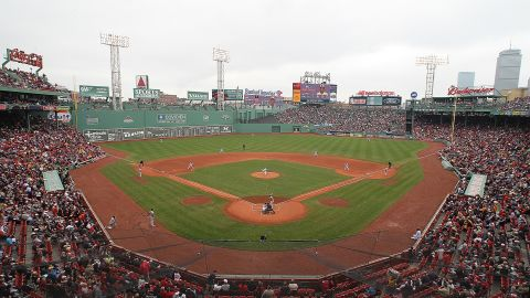 """Carl Beane, known to baseball fans as """"the voice of Fenway Park,"""" has died."""