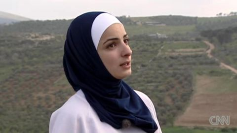 Woroud Sawalha will be one of four athletes competing under the Palestinian flag at the London Olympics, and the only woman.
