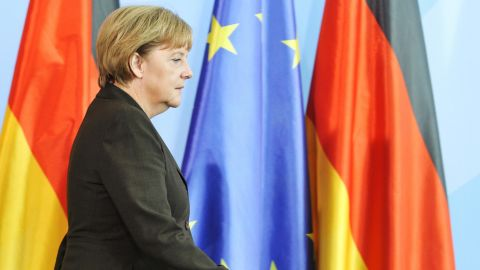 German Chancellor  Angela Merkel is likely not to support the creation of eurozone bonds.
