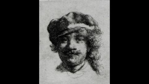 """Self-Portrait"" by Rembrandt"