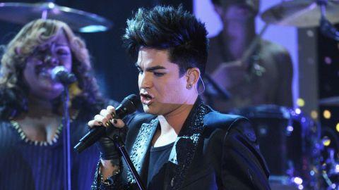 Adam Lambert, shown here performing at Logo's 'NewNowNext Awards' 2012 in April.