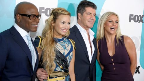 """Britney Spears will join L.A. Reid, Demi Lovato and Simon Cowell on """"The X Factor."""""""