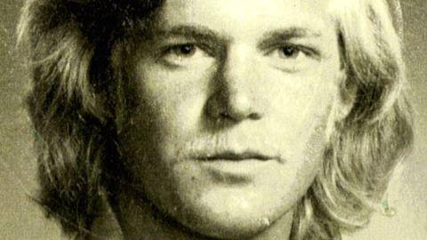 Peter Leonard at 20 in a passport photo.