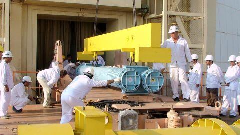 Iran is under intense international pressure to rein in its nuclear program.