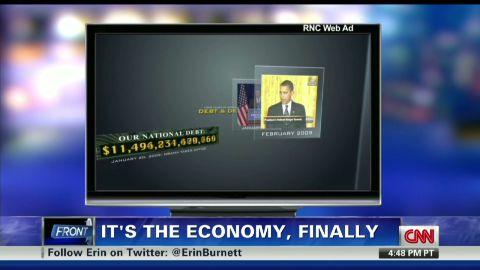 exp Obama and Romney exchange jabs_00005109