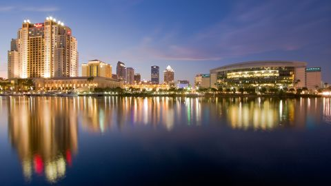 Tampa is within 20 minutes of some of the nation's best beaches.
