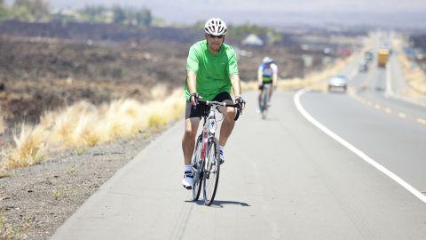 "Carlos Solis treks along the ""Queen K"" highway."
