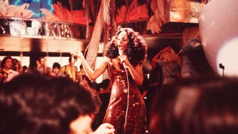 """Summer played Nicole Sims in the movie """"Thank God It's Friday"""" in 1978. She won her first Grammy for a song from the soundtrack, """"Last Dance."""""""