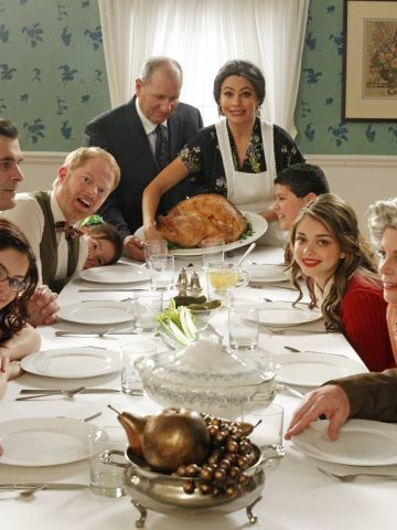 """ABC's """"Modern Family,"""" which has picked up a few<a href=""""http://www.cnn.com/2011/SHOWBIZ/TV/09/19/emmy.awards/index.html"""" target=""""_blank""""> Emmy Awards</a> over the course of its four seasons, features an ensemble cast. Among the stars on Steven Levitan and Christopher Lloyd's family comedy are Ed O'Neill and Sofia Vergara."""